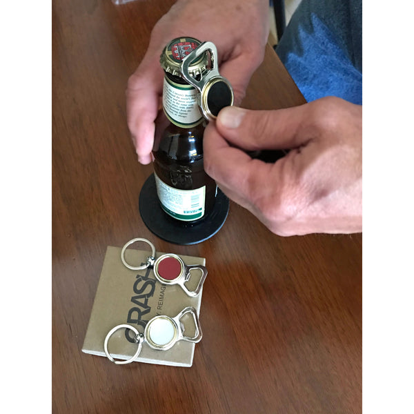 Bentley Flying Spur Bottle Opener Key Chain - CRASH Jewelry