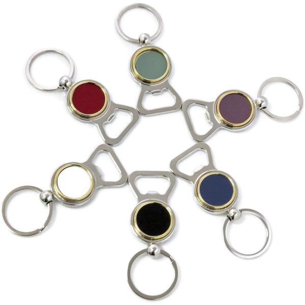 Logo Bottle Opener Key Chain - CRASH Jewelry