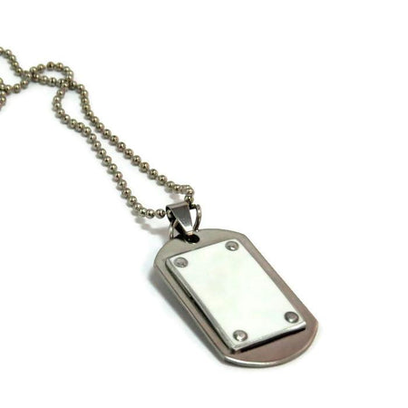 Ferrari Dog Tag Necklace