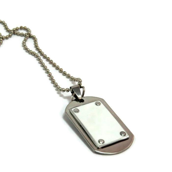 Necklaces - Audi R8 Dog Tag Necklace
