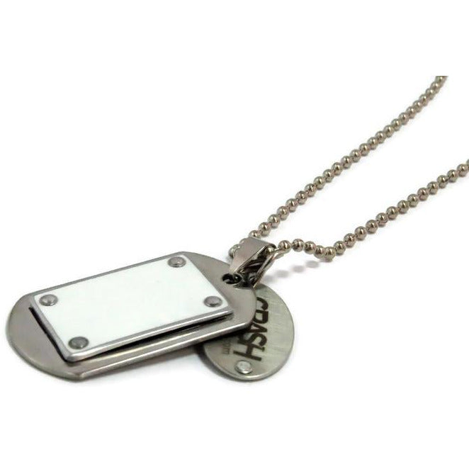 Audi R8 Dog Tag Necklace - CRASH Jewelry