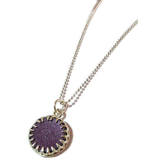Bentley Lacy Bezel Necklace - CRASH Jewelry