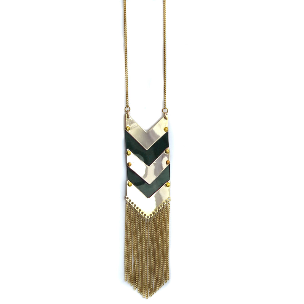 BMW Alpina Chevron Necklace - CRASH Jewelry