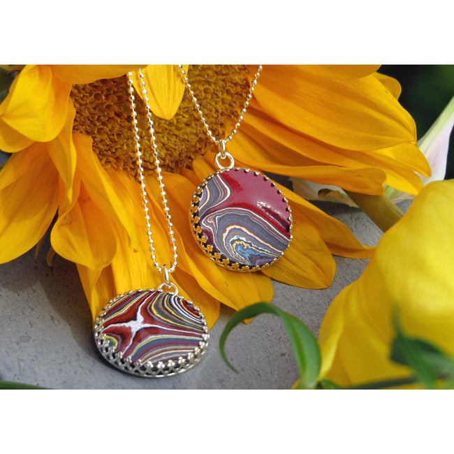 Necklaces - Corvette Fordite Necklaces