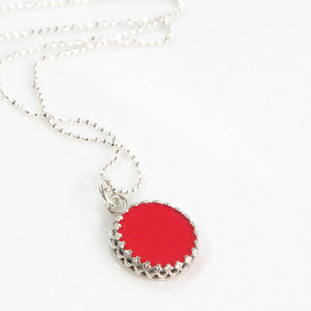 Ferrari Heart Necklace
