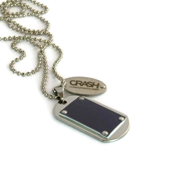 Ferrari Dog Tag Necklace - CRASH Jewelry