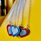 Ferrari Heart Necklace - CRASH Jewelry
