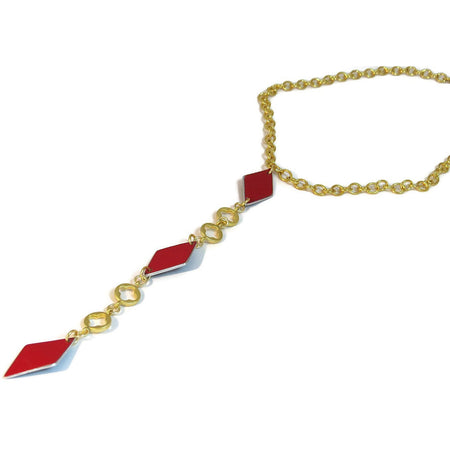 Ferrari Triangle Necklace