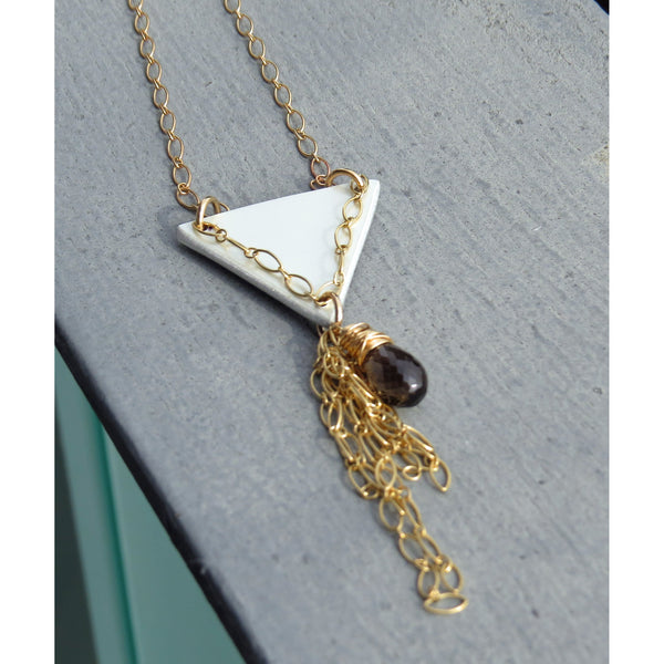Ferrari Triangle Necklace - CRASH Jewelry