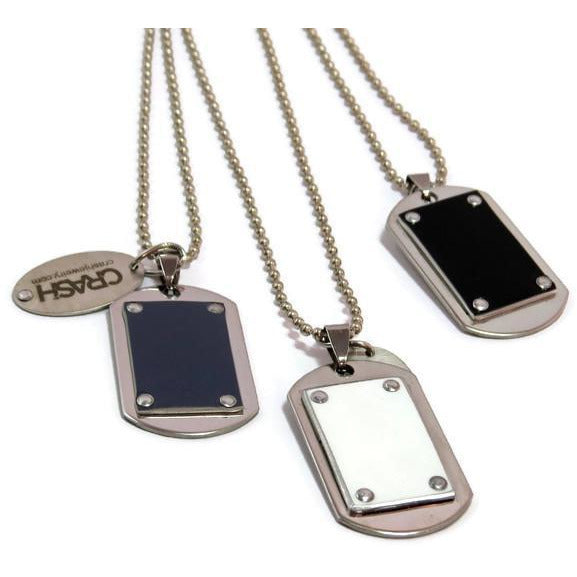 Lamborghini Dog Tag Necklace - CRASH Jewelry