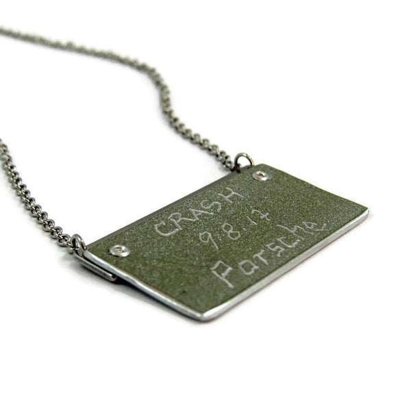 Porsche Bar Necklace - CRASH Jewelry