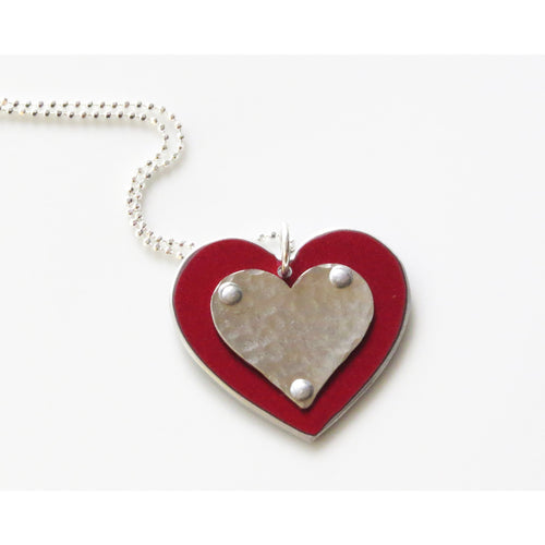 Necklaces - Range Rover Heart Necklace