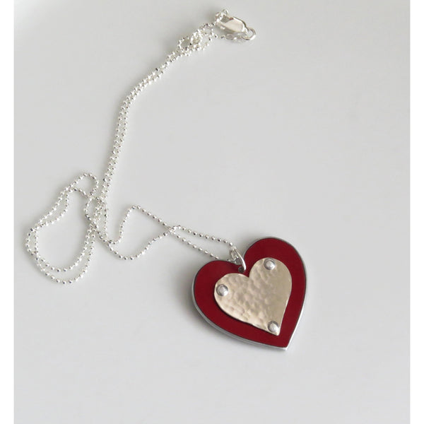 Range Rover Heart Necklace - CRASH Jewelry