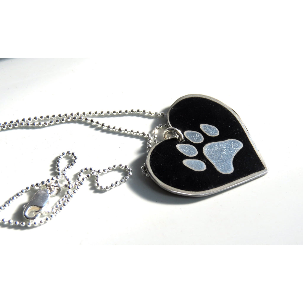 Necklaces - Rolls-Royce Paw Heart