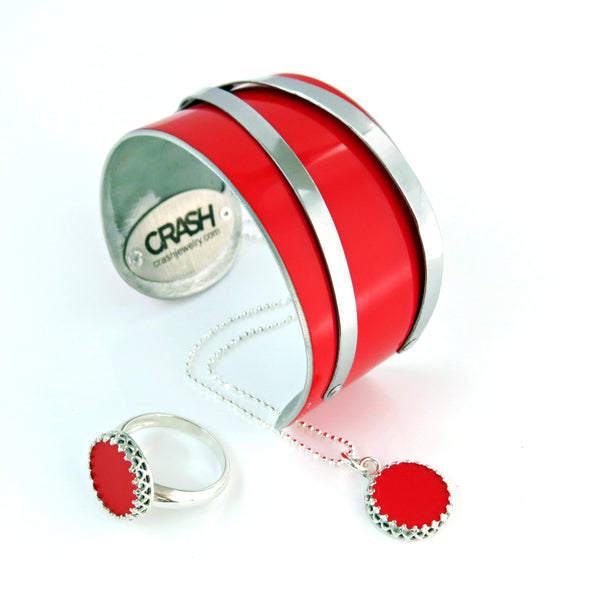 Ferrari 360 Challenge Stradale Decorative Ring - CRASH Jewelry