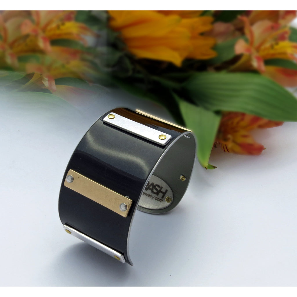 Rolls-Royce Mixed Metal Cuff - CRASH Jewelry