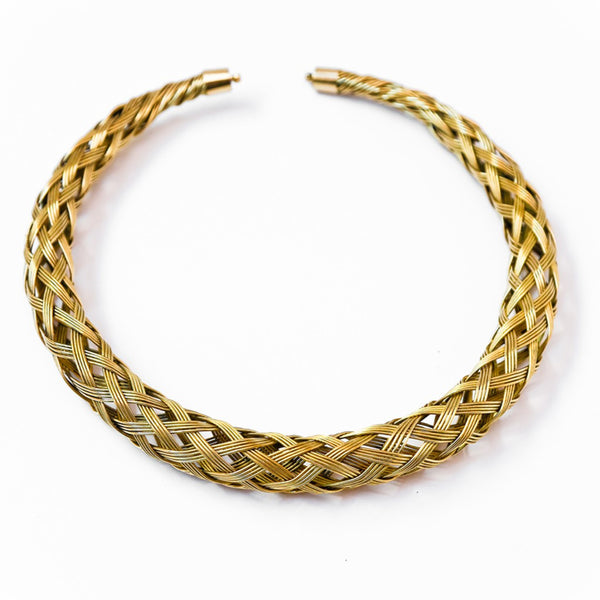 Woven cable necklace - jeweleen - 1