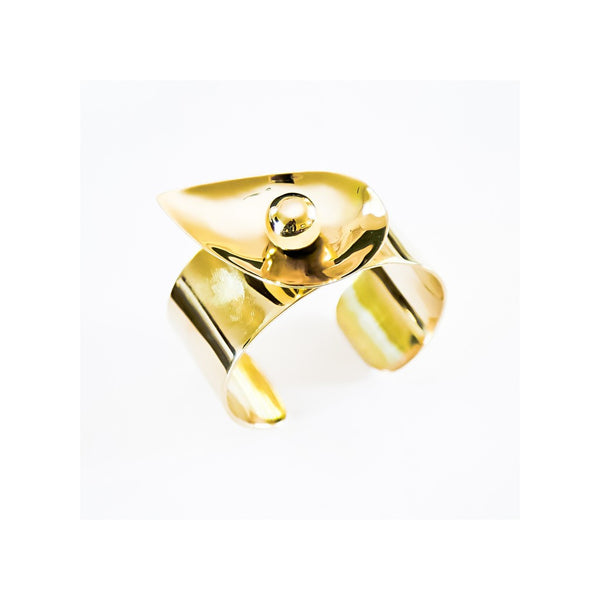 golden eye   cuff - jeweleen - 1