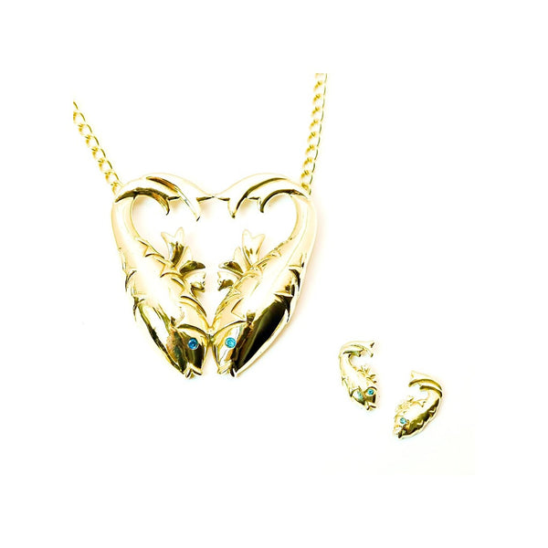 Pisces pendant necklace - jeweleen - 1