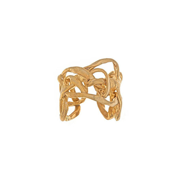 Interwoven Ring - jeweleen - 1