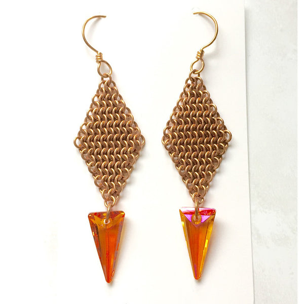 European 4-in-1 Spike Earrings - jeweleen