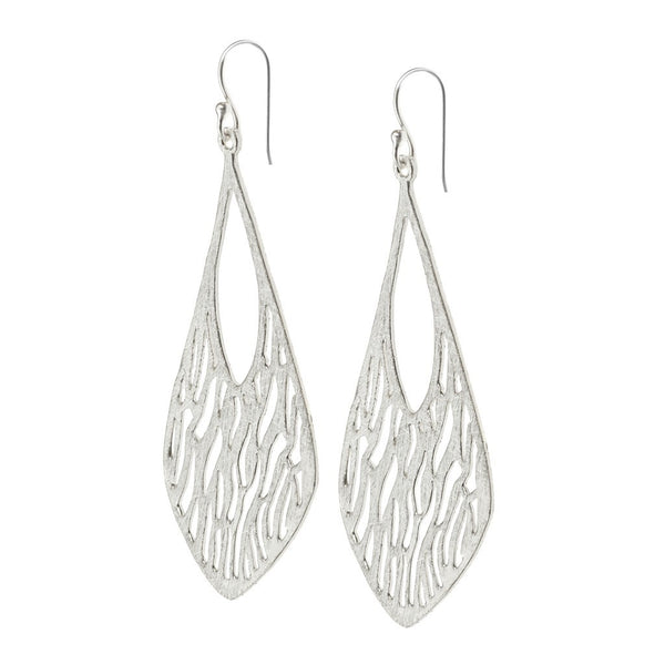 Gigi earrings silver - jeweleen