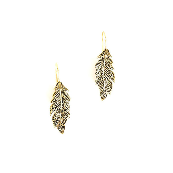 feather earrings - jeweleen - 1