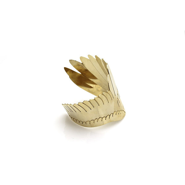 Wing Bracelet- gold - jeweleen