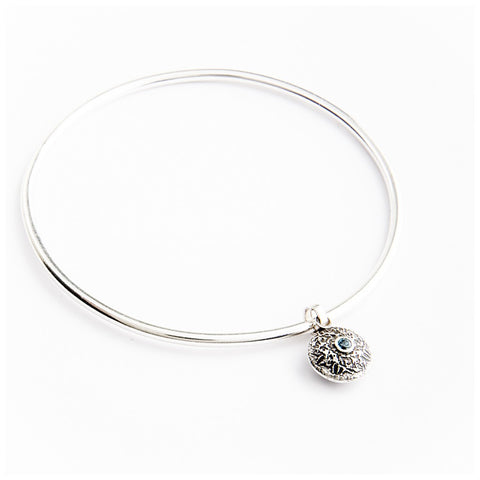Silver Dangle Bangle - jeweleen - 1