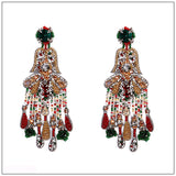 VINTAGE CHANDELIER EARRINGS. - jeweleen - 3