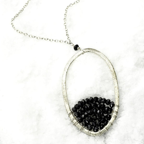'ARCH ENEMY' Necklace-30 in - jeweleen - 1