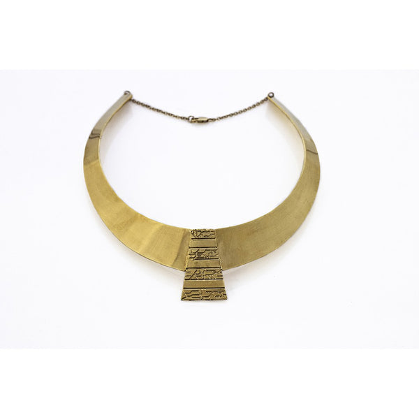 Egyptian Collar Necklace - jeweleen