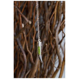 Tusk Terrarium Necklace - jeweleen - 3