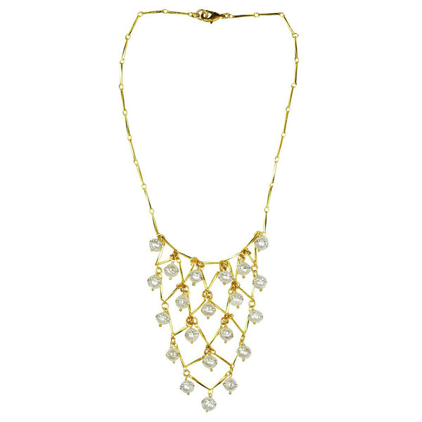 Pearl Statement Necklace - jeweleen