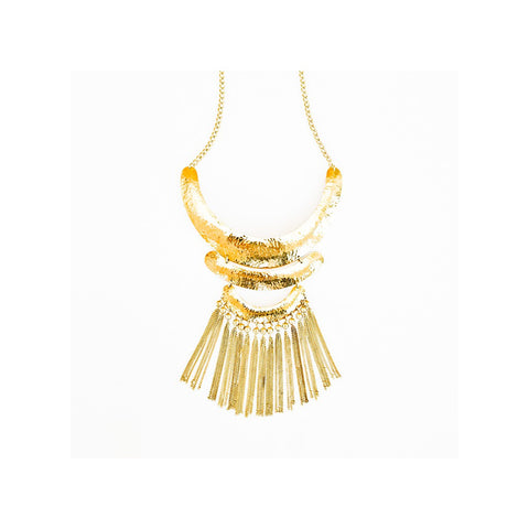 Rain collar  necklace - jeweleen - 1