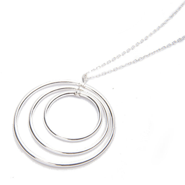 Vitru Sterling Silver Necklace - jeweleen - 1