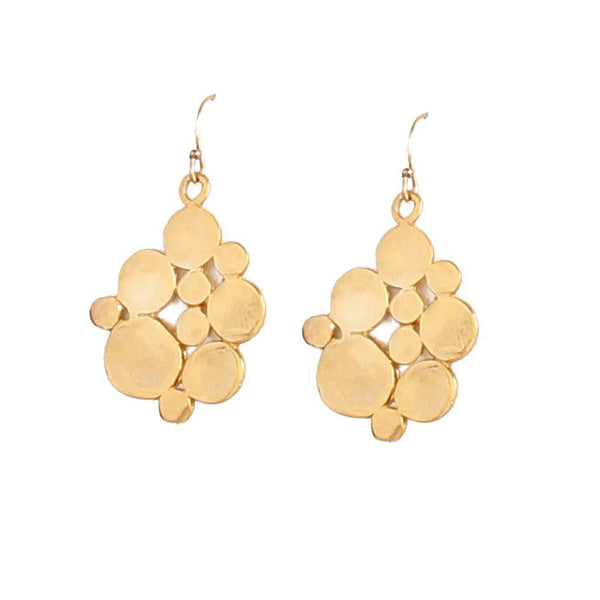 Flat Bubble Earrings - jeweleen - 1