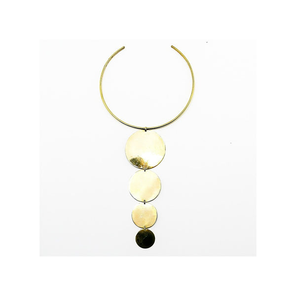 Full moon rising   necklace - jeweleen - 1