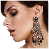 VINTAGE CHANDELIER EARRINGS. - jeweleen - 2