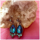 Topaz Gemstone Fashion Earrings - jeweleen - 3