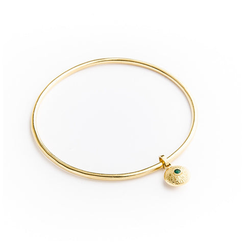 Gold Dangle Bangle - jeweleen - 1