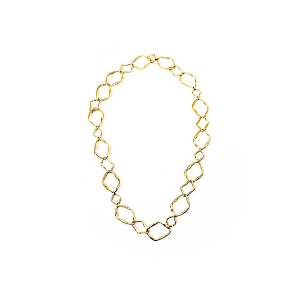 Atypic chain  necklace - jeweleen - 1