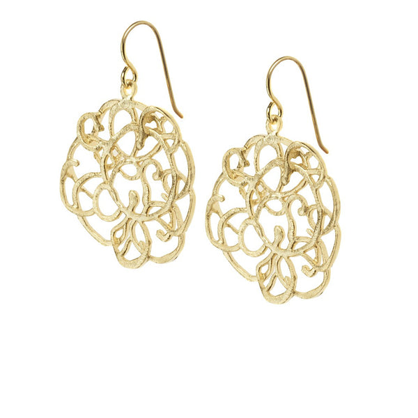 Scarlett earrings gold - jeweleen