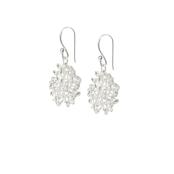 Sophia earrings silver - jeweleen