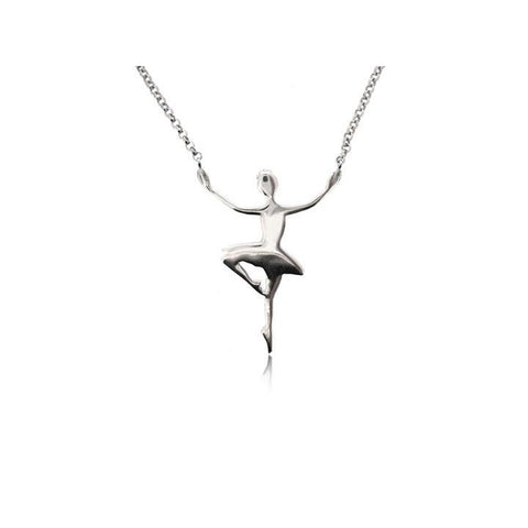 BALLET DANCER NECKLACE