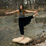The Savannah Winter Collection - 100% cotton harem Yoga, Beach & Camping Pant that packs into its pocket. - jeweleen - 11