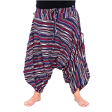 The Savannah Flair Collection For Both Men & Women - 100% cotton harem Yoga, Beach & Camping Pant that packs into its pocket. - jeweleen - 16