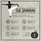 The Savannah Winter Collection - 100% cotton harem Yoga, Beach & Camping Pant that packs into its pocket. - jeweleen - 8