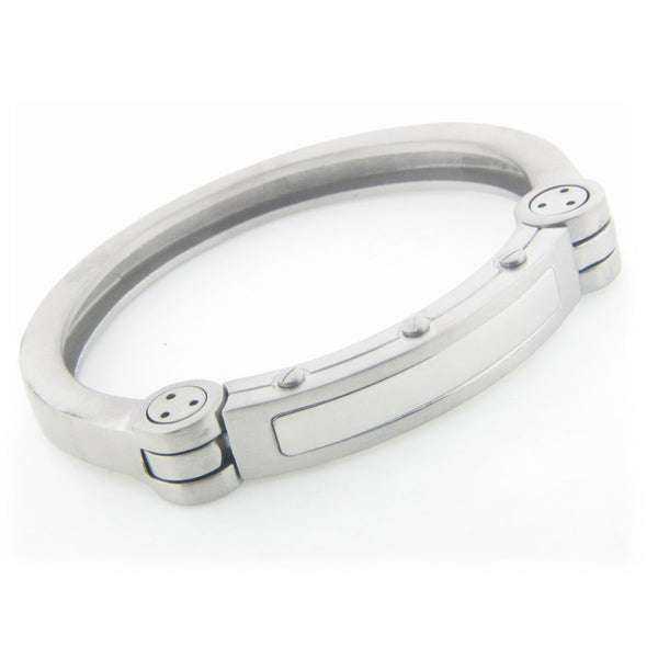 Mens Iron Man Stainless Steel Bracelet