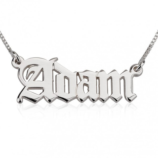 English Style Name Necklace - jeweleen - 1